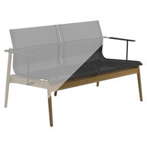 Protective Cover for Sway Teak 2-Seater Sofa