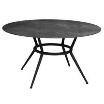 Round Dining Table Top - Black Ceramic