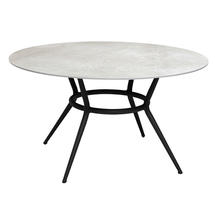 Round Dining Table Top - Grey Ceramic