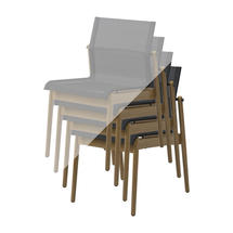 Protective Cover for Sway Teak Stacking Chair (Stack of 4 Chairs)