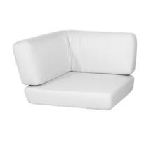 Savannah corner module cushion set - White