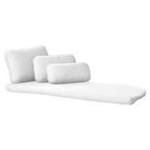 Savannah Daybed Left Module Cushion Set - White