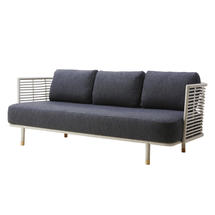 Sense Indoor 3 Seater Sofa Frame - White