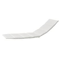 Escape sunbed cushion - White