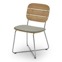 Lilium Chair Cushion - Ash