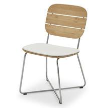 Lilium Chair Cushion - White