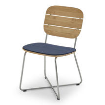 Lilium Chair Cushion - Marine