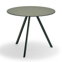 Overlap Round Table, Ø85 - Hunter Green