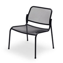 Mira Lounge Chair - Anthracite Black