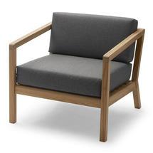 Virkelyst Deep Chair - Charcoal