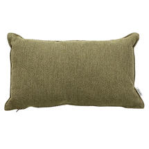 Wove Rectangular Scatter Cushion - 32x52cm - Light Green