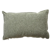 Wove Rectangular Scatter Cushion - 32x52cm - Dark Green