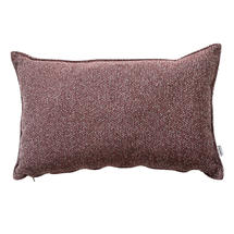 Wove Rectangular Scatter Cushion - 32x52cm - Dark Bordeaux