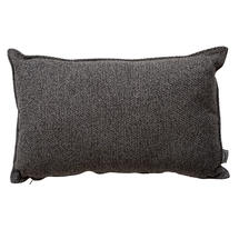 Wove Rectangular Scatter Cushion - 32x52cm - Dark Grey
