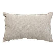 Wove Rectangular Scatter Cushion - 32x52cm - Light Brown