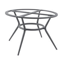 Joy Dining Table Base Round - Light Grey