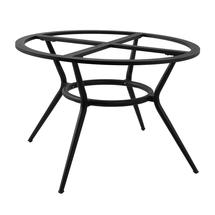 Joy Dining Table Base Round - Lava Grey