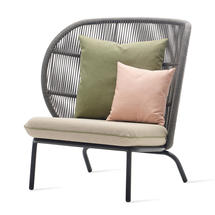 Kodo Cocoon Chair Frame - Fossil Grey