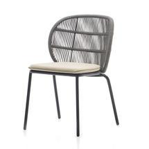 Kodo Dining Chair Frame - Fossil Grey