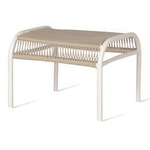 Loop Rope Footrest - Beige/Stone White