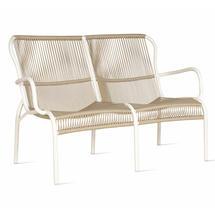 Loop Rope Garden Sofa - Beige/Stone White