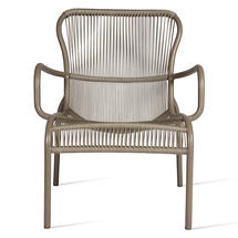 Loop Rope Lounge Chair - Taupe