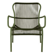 Loop Rope Lounge Chair - Moss