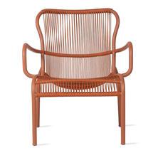 Loop Rope Lounge Chair - Terracotta