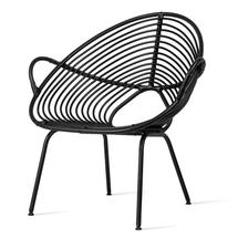 Rocco Lazy Chair - Black