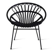 Roxanne Lazy Chair - Black