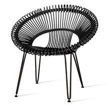 Roy Lazy Chair - Black