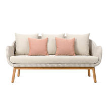 Anton Outdoor Lounge Sofa - Old Lace