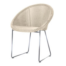 Gipsy Steel Framed Dining Chair - Old Lace