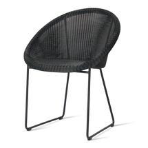 Gipsy Black Framed Dining Chair  - Black