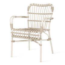 Lucy Dining Armchair - Off White