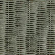 Gigi Lounge Chair Steel Frame - Dusty Green