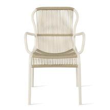 Loop Rope Dining Chair - Beige/Stone White