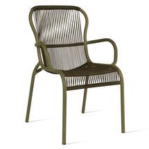 Loop Rope Dining Chair - Moss