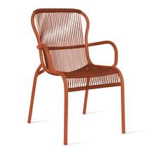Loop Rope Dining Chair - Terracotta