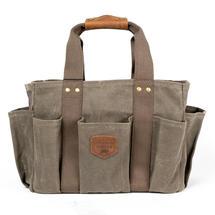 Wax Canvas Gardening Bag - Olive