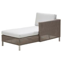 Connect Chaise Lounge Left Module - White Cushions