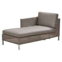 Connect Chaise Lounge Right Module - Taupe Cushions