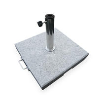 Granite Parasol Bases - 40kg with Wheels