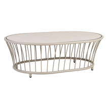 Cordial Coffee Table Beige with Sand Top