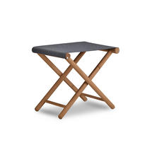 Junction Footstool - Charcoal