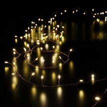 Copper Bare Wire Cluster Micro LED Tree Garland