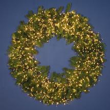 Grande Statement Extra Large LED Wreath