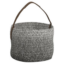 Deco Basket- Pewter Ombre