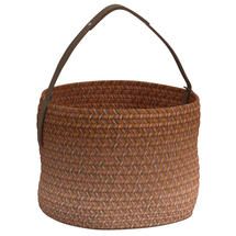 Deco Basket- Vermillion Ombre