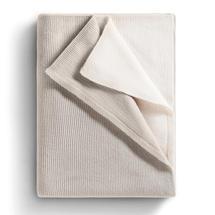 Atmosphere Cashmere Blanket - Linen / Tamarisk